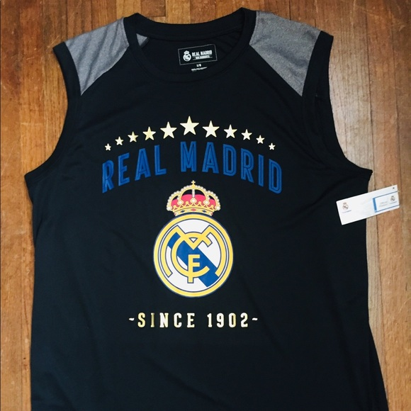 online store ceeda 494b6 Men's Official Real Madrid jersey tank top NWT